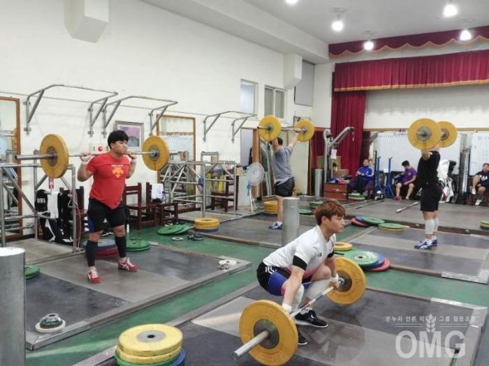 12-10 진안군청 역도부, 대만서 전지훈련 '한창' 1.jpg