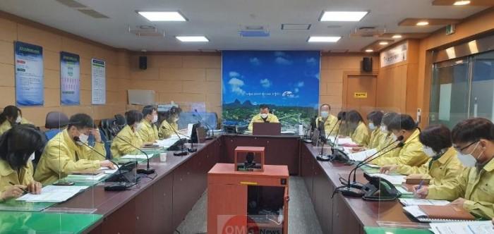 02-23 진안군 코로나19 4차 유행 대비 협업부서 회의개최.jpeg