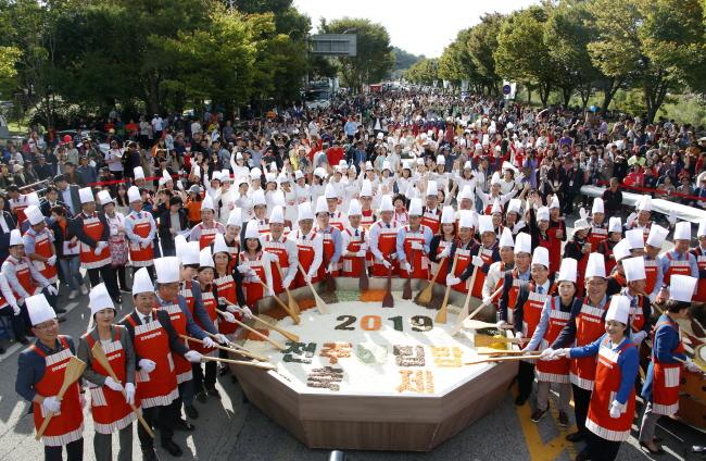글로벌 미식축제, 2019 전주비빔밥축제 개막
