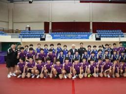 탁구 국가대표 꿈나무들 무주국민체육센터서 17일 간 하계 합숙훈련