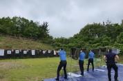 부안해경, 2020년 상반기 경찰관 육상 사격 훈련