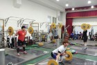 진안군청 역도부, 대만서 전지훈련 '한창'