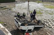 선착장 차량 추락사고 구조 구난 조치