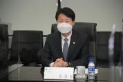 """식약처장, 아스트라제네카 SK 방문…""""안정적 공급 기반"""""""